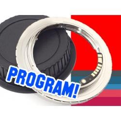Adapter PRAKTICA PB na CANON potwierdzenie  AF programowalny