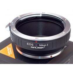 Adapter Canon EOS na NIKON 1 n1