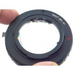Adapter Voigtlander Retina DKL na NIKON
