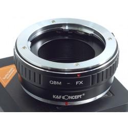Adapter Rollei QBM na FUJI FX