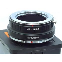 Adapter MINOLTA MD na NIKON-Z K&F CONCEPT