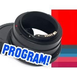 Adapter PENTACON SIX na CANON EOS EF potwierdzenie AF PROGRAM