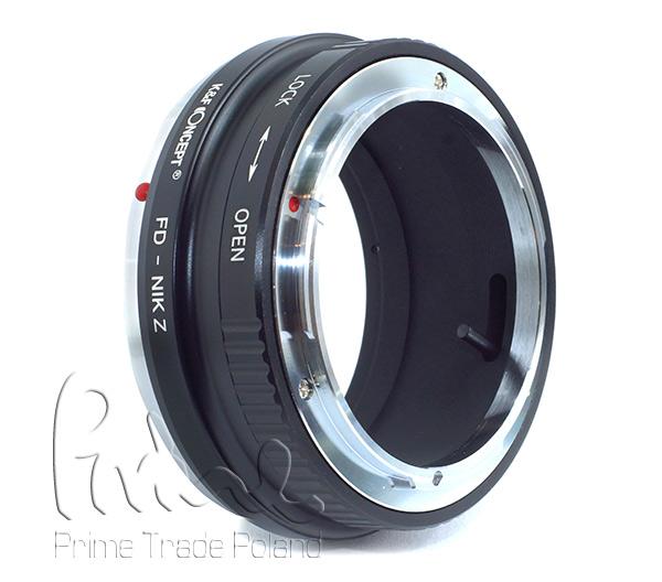 Adapter fotograficzny Canon FD na NIKON Z