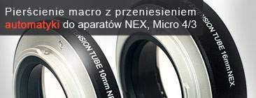 Pierścienie macro AUTO FOCUS do aparatów